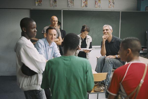 Entre os Muros da Escola : Foto François Bégaudeau, Laurent Cantet