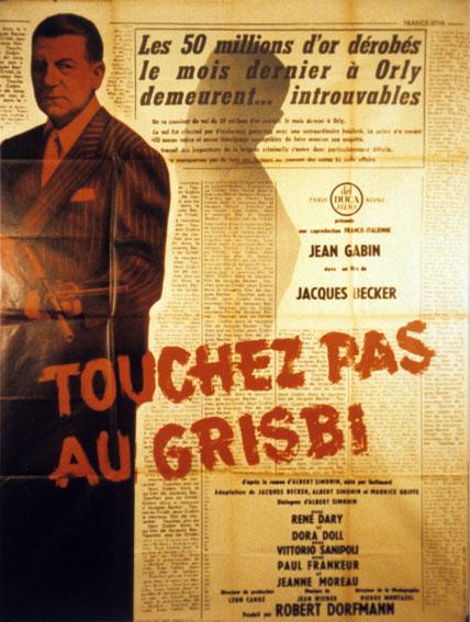 Touchez pas au grisbi : Poster