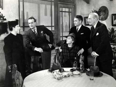 Rebecca, A Mulher Inesquecível : Foto C. Aubrey Smith, Dame Judith Anderson, George Sanders, Joan Fontaine, Laurence Olivier