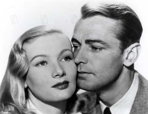 The Blue Dahlia : Foto Alan Ladd, George Marshall, Veronica Lake