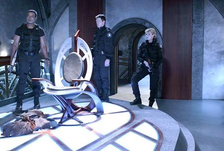 Stargate SG-1 : Foto Amanda Tapping, Ben Browder, Christopher Judge