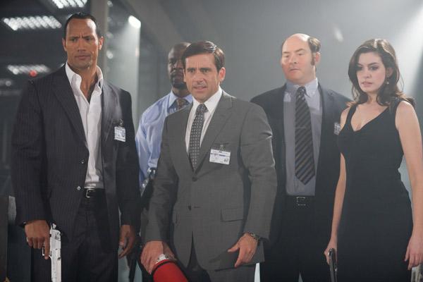 Agente 86 : Foto Anne Hathaway, David Koechner, Dwayne Johnson, Steve Carell