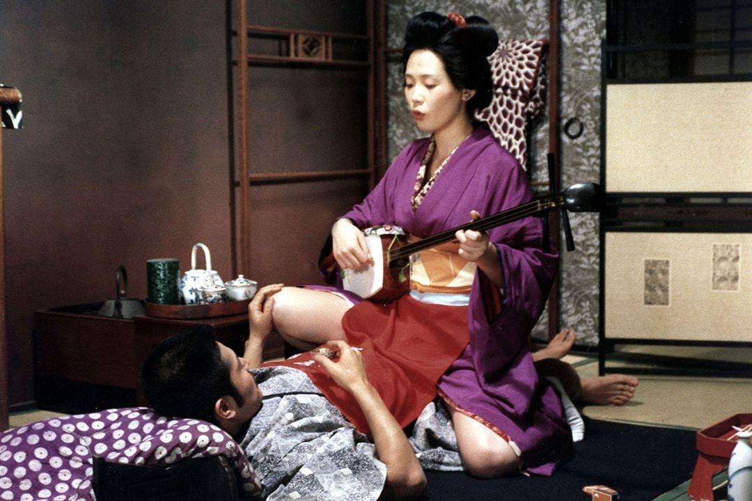 O Império dos Sentidos : Foto Eiko Matsuda, Tatsuya Fuji