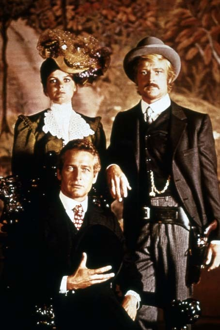 Butch Cassidy : Foto George Roy Hill, Katharine Ross, Robert Redford