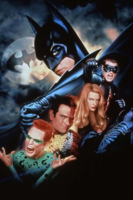 Batman Eternamente : Foto Chris O'Donnell, Jim Carrey, Nicole Kidman, Tommy Lee Jones, Val Kilmer