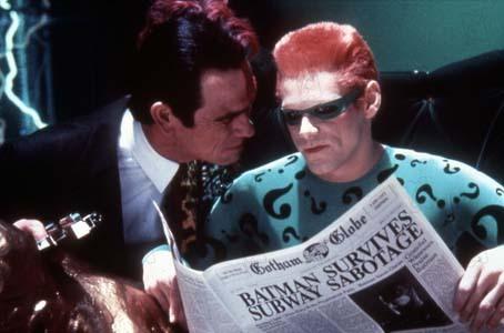 Batman Eternamente : Foto Jim Carrey, Tommy Lee Jones