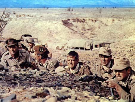 Tobruk : Foto Arthur Hiller, George Peppard, Rock Hudson