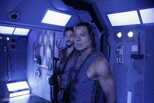 Stargate: Atlantis : Foto Christopher Judge, Jason Momoa