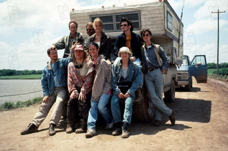Twister : Foto Alan Ruck, Helen Hunt, Jan de Bont, Philip Seymour Hoffman, Todd Field