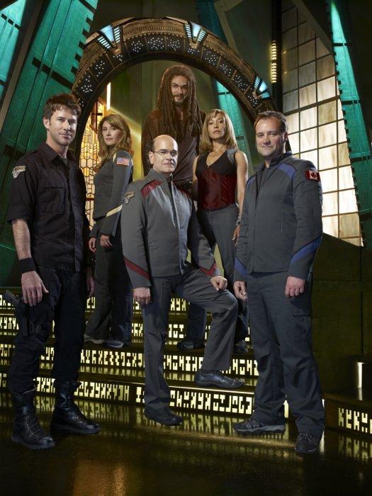 Stargate: Atlantis : Foto David Hewlett, Jason Momoa, Jewel Staite, Joe Flanigan, Rachel Luttrell