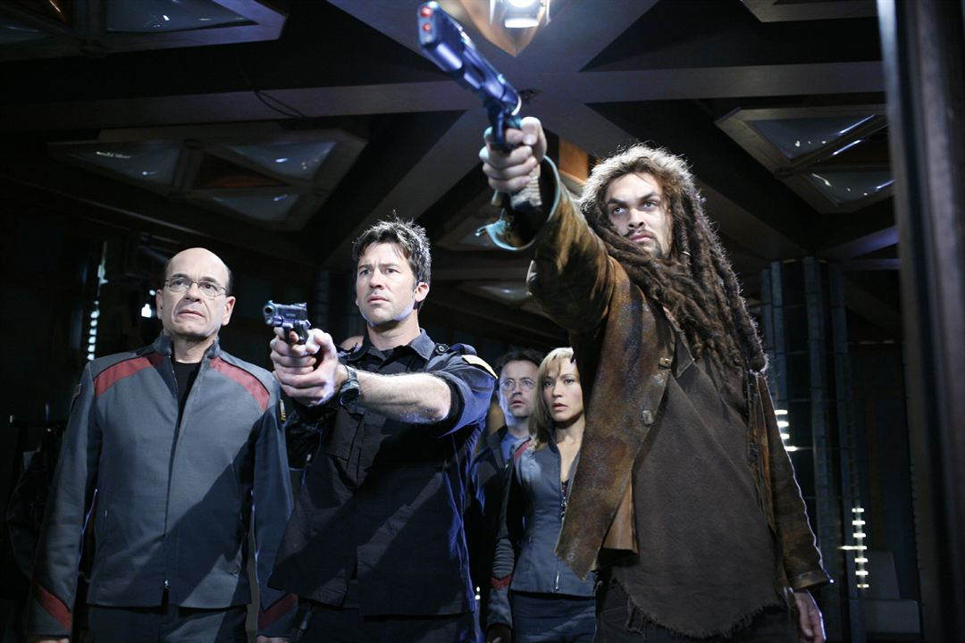 Stargate: Atlantis : Foto Jason Momoa, Joe Flanigan, Robert Picardo
