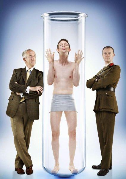 Clone : Foto Jonathan Pryce, Mark Gatiss, Stuart McLoughlin