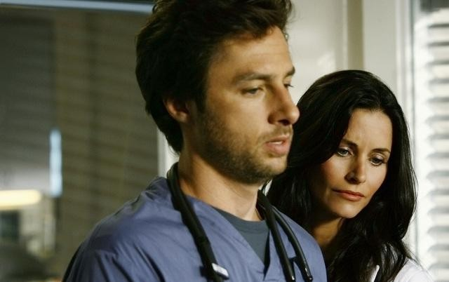 Scrubs : Foto Courteney Cox, Zach Braff