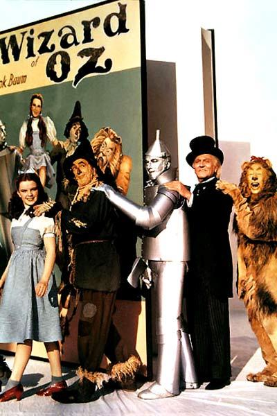 O Mágico de Oz : Foto Frank Morgan, Jack Haley, Judy Garland, Victor Fleming