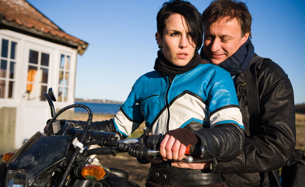 Os Homens que Não Amavam as Mulheres : Foto Michael Nyqvist, Niels Arden Oplev, Noomi Rapace