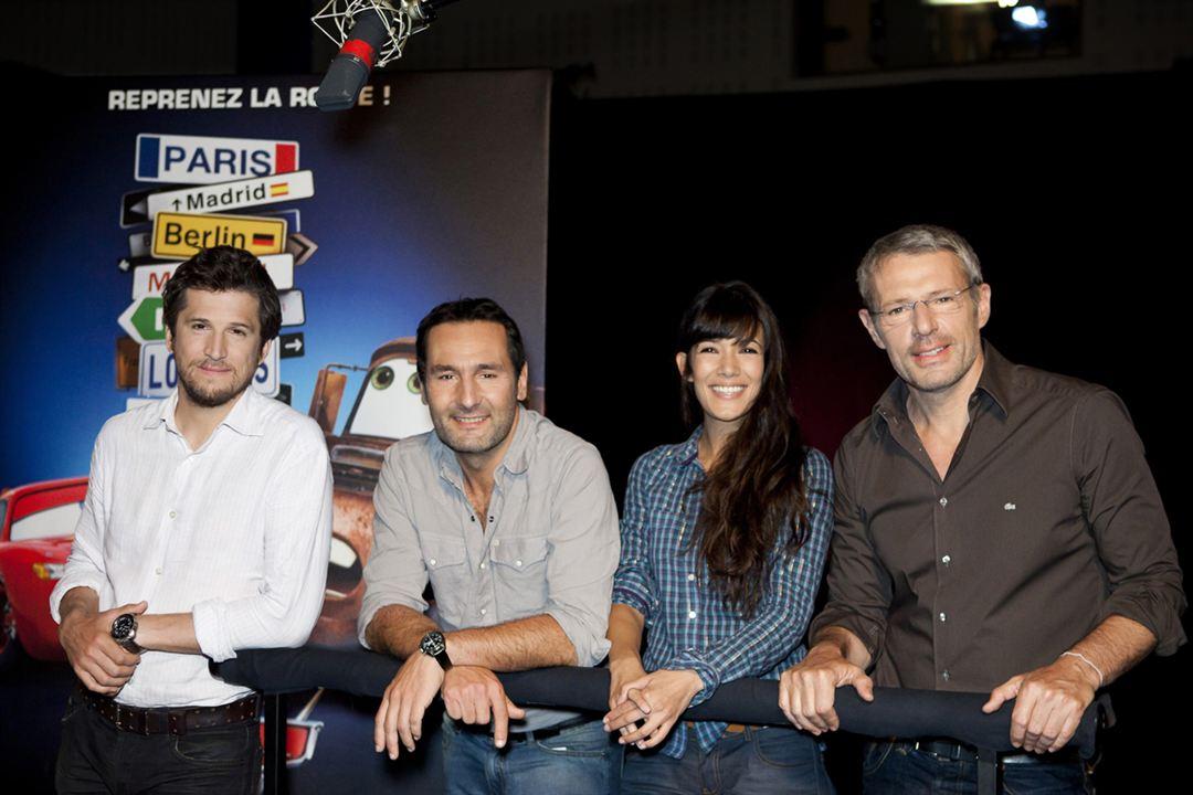 Carros 2 : Foto Gilles Lellouche, Guillaume Canet, Lambert Wilson, Mélanie Doutey