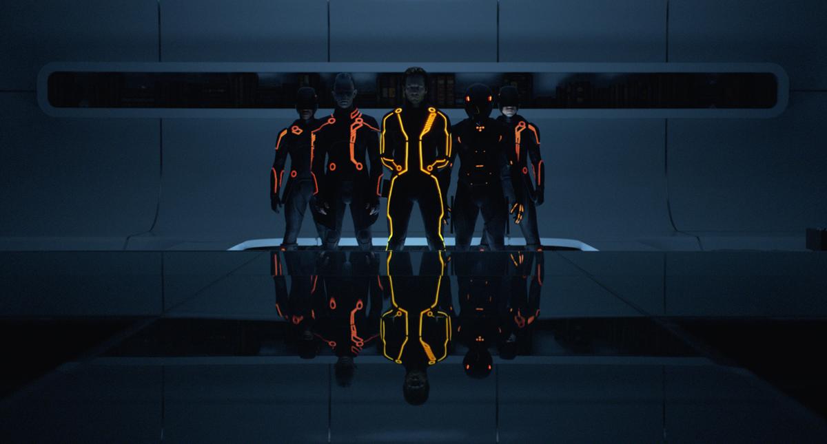 Tron - O Legado : Foto James Frain, Jeff Bridges, Joseph Kosinski