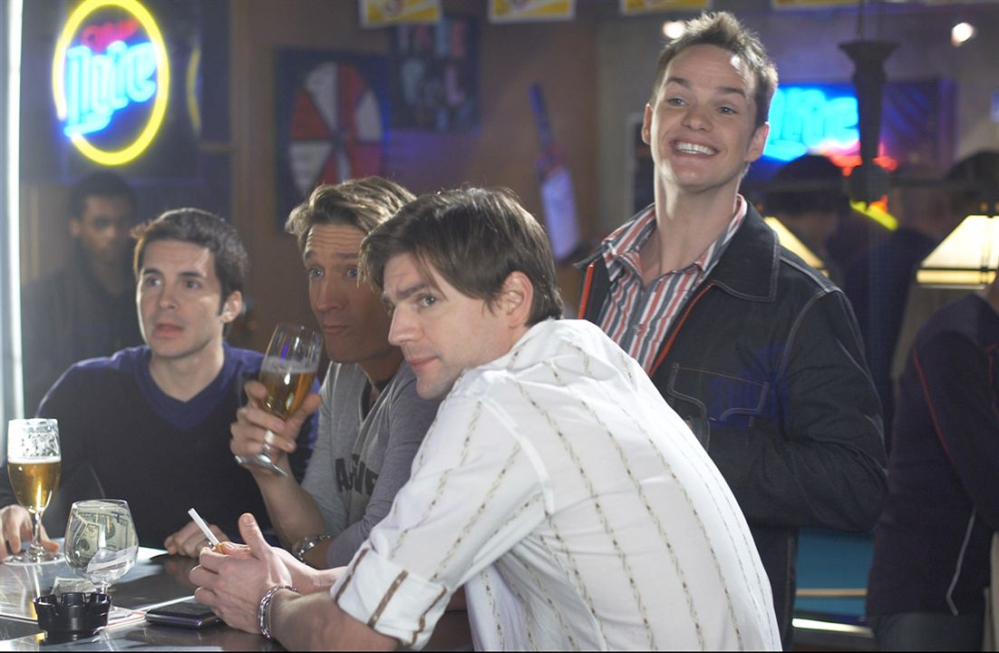 Queer as Folk (US) : Foto Gale Harold, Hal Sparks, Peter Paige, Robert Gant