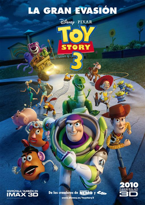 Toy Story 3 : Poster
