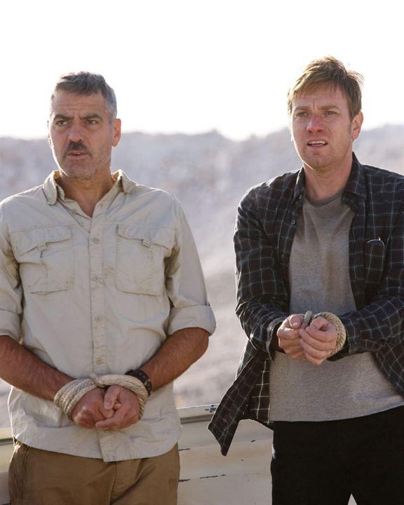 Os Homens que Encaravam Cabras : Foto Ewan McGregor, George Clooney, Grant Heslov