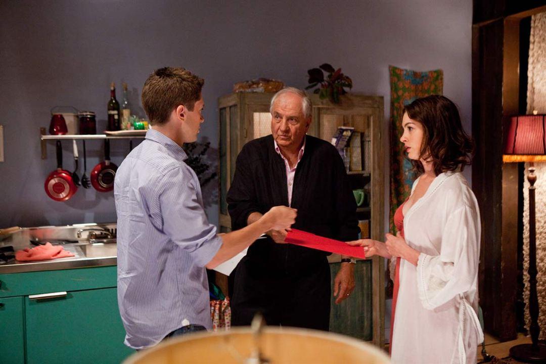 Idas e Vindas do Amor : Foto Anne Hathaway, Garry Marshall, Topher Grace
