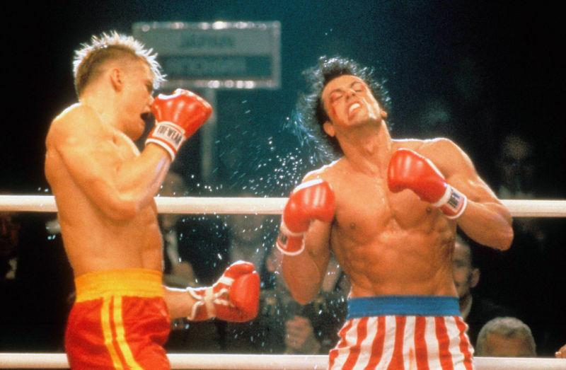 Rocky 4: Sylvester Stallone, Dolph Lundgren