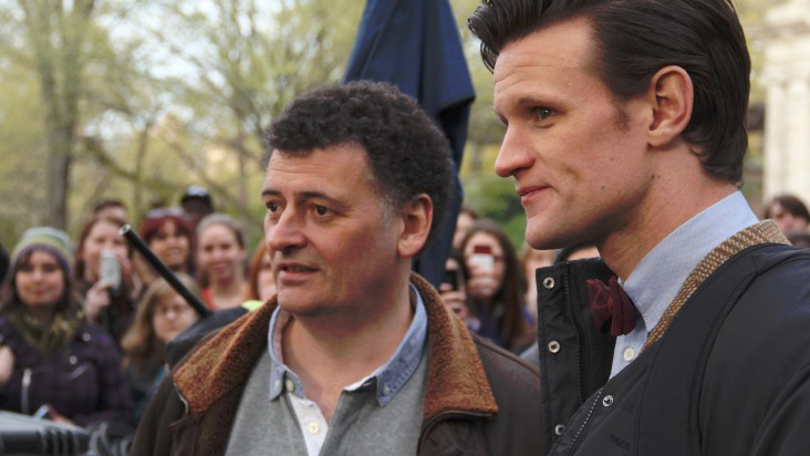 Foto Matt Smith (XI), Steven Moffat