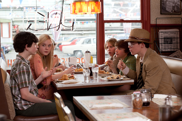 Super 8 : Foto Elle Fanning, Gabriel Basso, Joel Courtney, Zach Mills