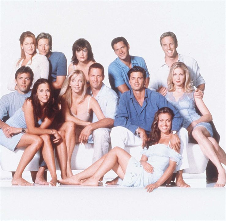 Foto Alyssa Milano, Andrew Shue, Brooke Langton, David Charvet, Heather Locklear