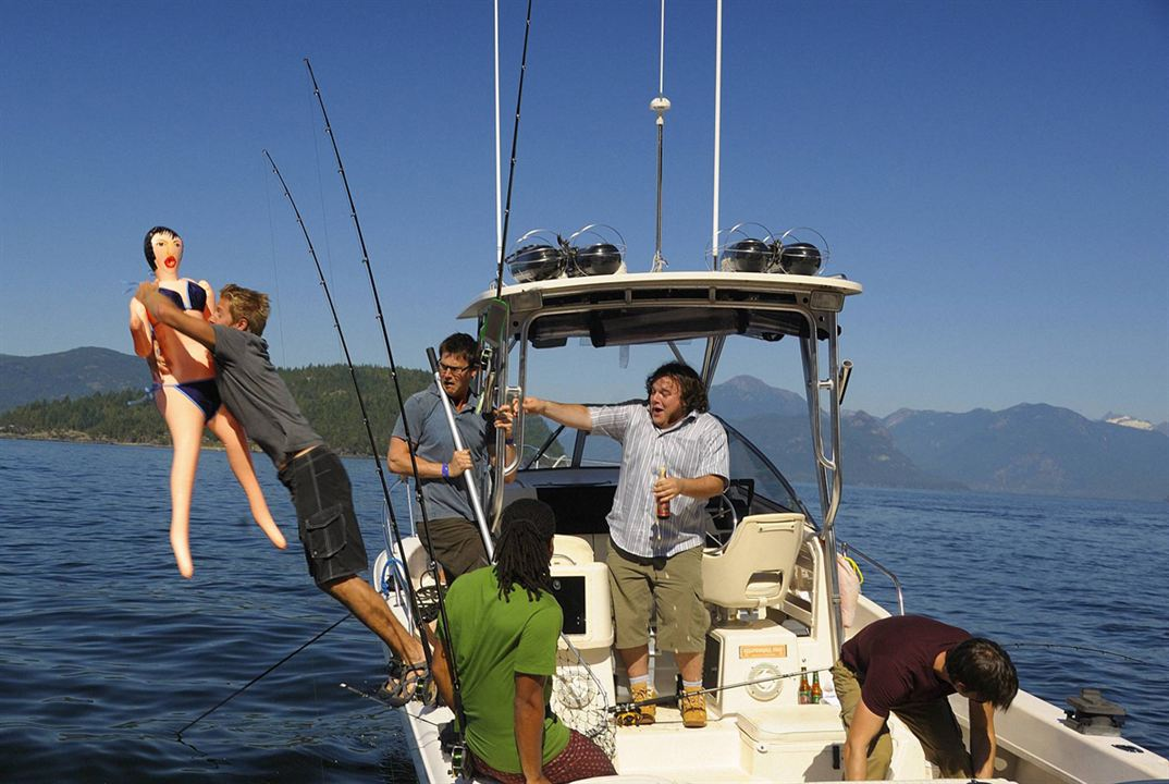 Harper's Island : Foto Brandon Jay McLaren, Chris Gauthier, Christopher Gorham, Matt Barr, Sean Rogerson