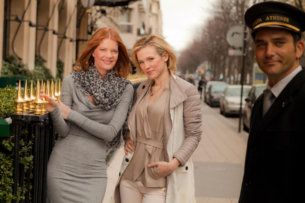 The Young and the Restless : Foto Lorie Pester, Michelle Stafford