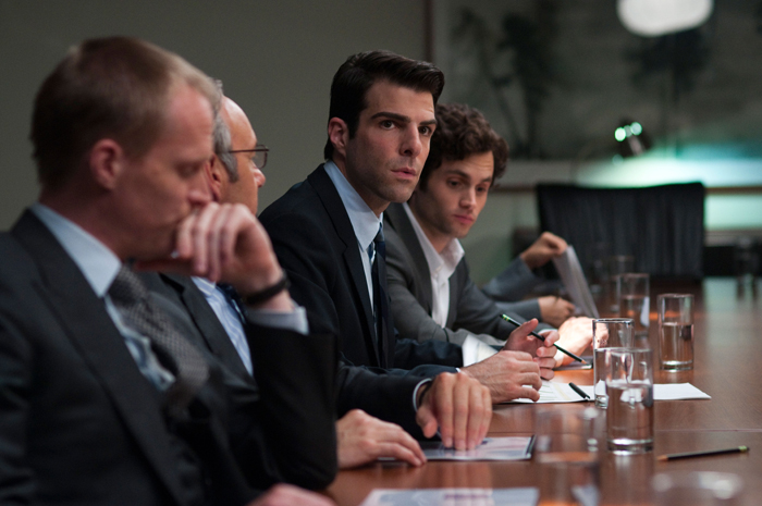 Margin Call - O Dia Antes do Fim : Foto Zachary Quinto