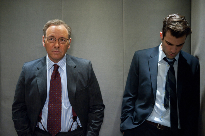 Margin Call - O Dia Antes do Fim : Foto Kevin Spacey, Zachary Quinto