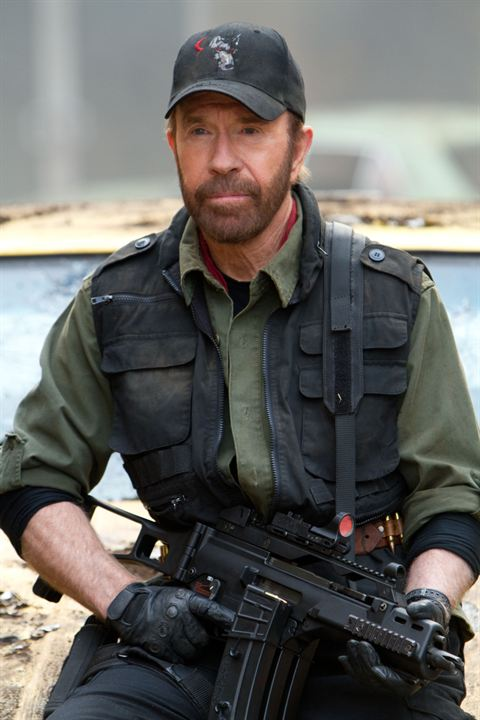 Os Mercenários 2 : Foto Chuck Norris