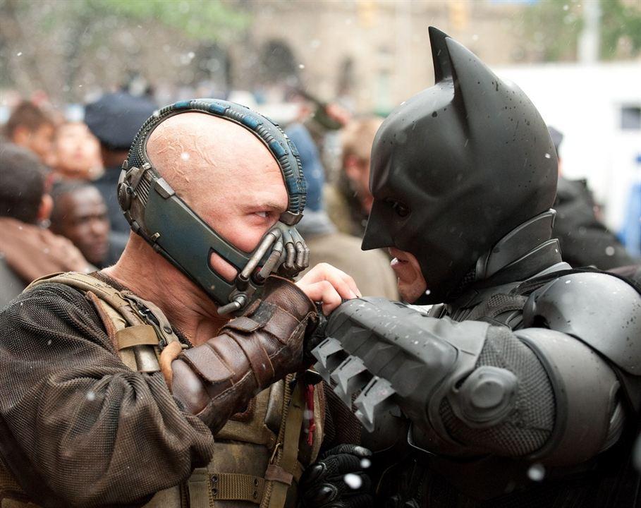 Batman - O Cavaleiro das Trevas Ressurge : Foto Christian Bale, Tom Hardy