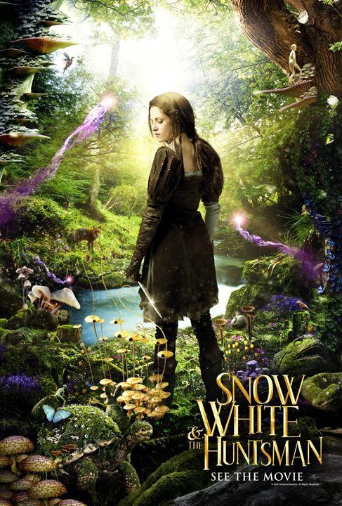Branca de Neve e o Caçador : Poster
