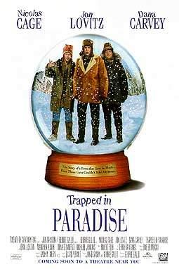 Encurralados no Paraíso : poster