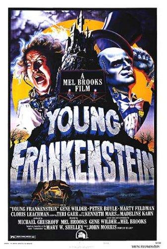 O Jovem Frankenstein : Poster