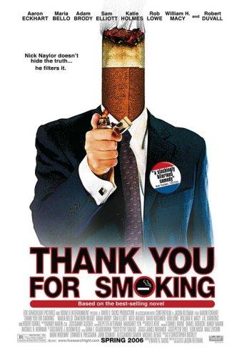 Obrigado por Fumar : Poster