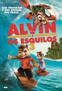 Alvin e os Esquilos 3 : poster