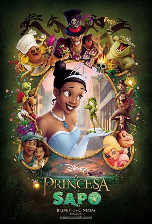 A Princesa e o Sapo : Poster