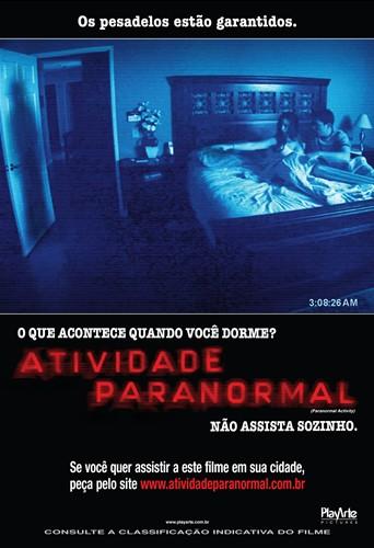 Atividade Paranormal : Poster
