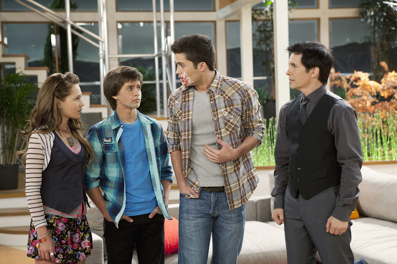 Photo Hal Sparks, Kelli Berglund, Spencer Boldman, William Brent (II)