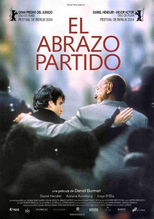 O Abraço Partido : Poster