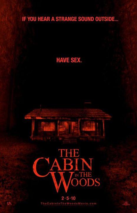 O Segredo da Cabana : Poster