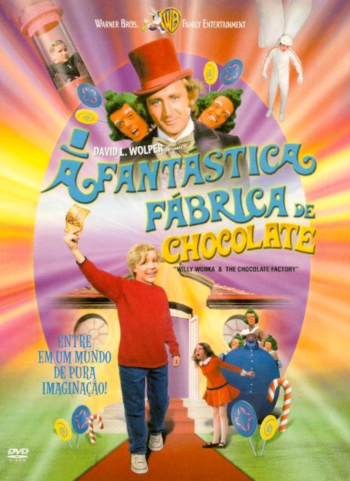 A Fantástica Fábrica de Chocolate : Poster