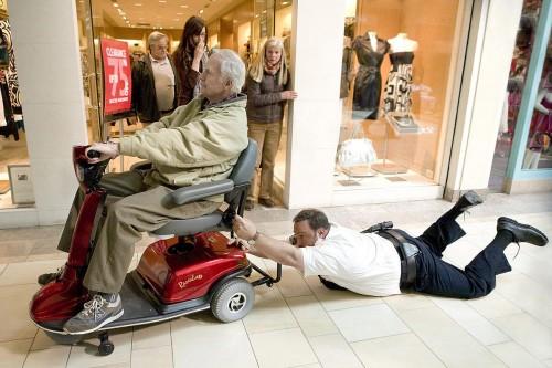 Segurança de Shopping : Foto