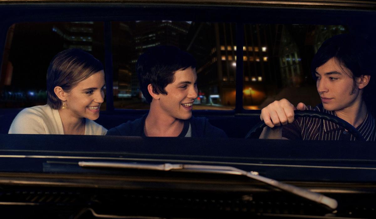 As Vantagens de Ser Invisível : Foto Emma Watson, Ezra Miller, Logan Lerman