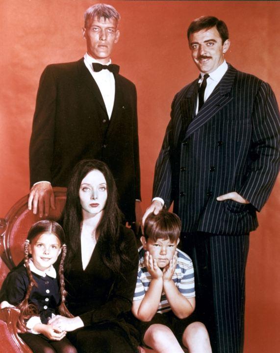 The Addams Family : Foto Carolyn Jones, John Astin, Ken Weatherwax, Lisa Loring, Ted Cassidy