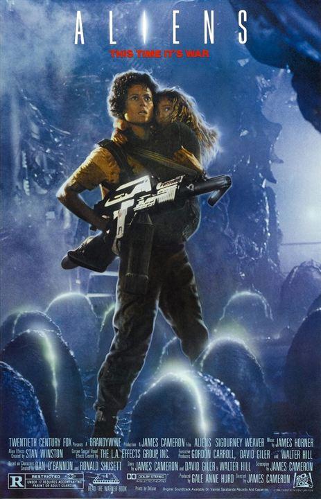 Aliens, O Resgate : Poster